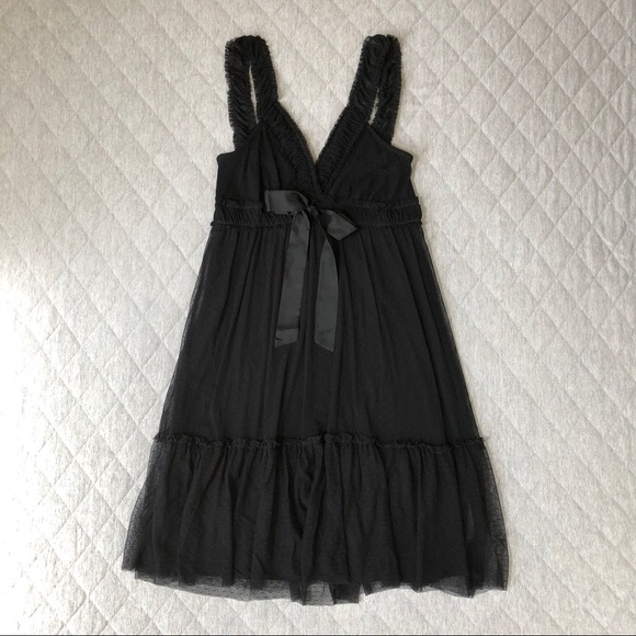 Ella Moss Dresses & Skirts - 📦 3/$15 Ella Moss Lace Slip Dress with Bow